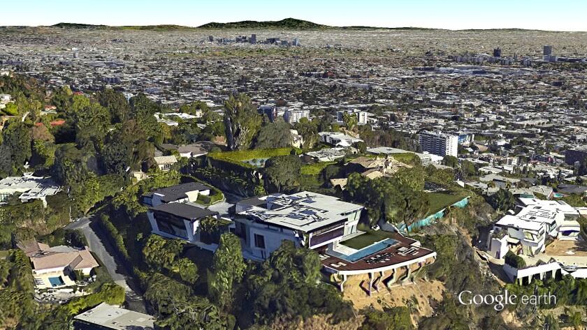 Former L.A. estate of Ricardo Montalban