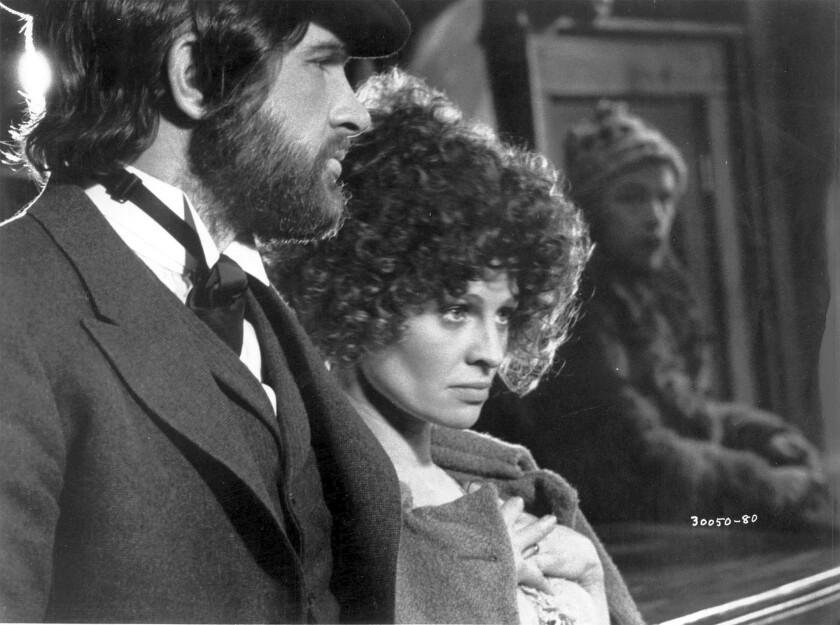"""Warren Beatty and Julie Christie in """"McCabe & Mrs. Miller."""""""