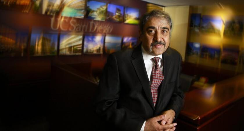 UC San Diego Chancellor Pradeep Khosla