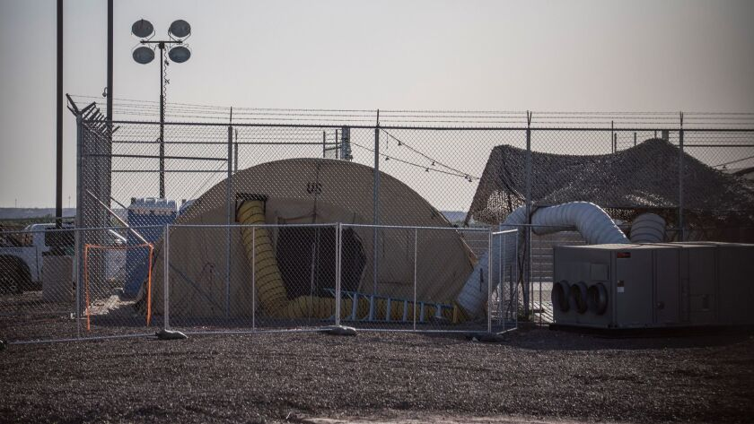 Shake-up at Homeland Security as migrant children are moved back to troubled Texas facility