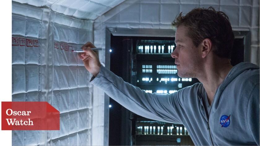 Matt Damon portrays an astronaut in 'The Martian'