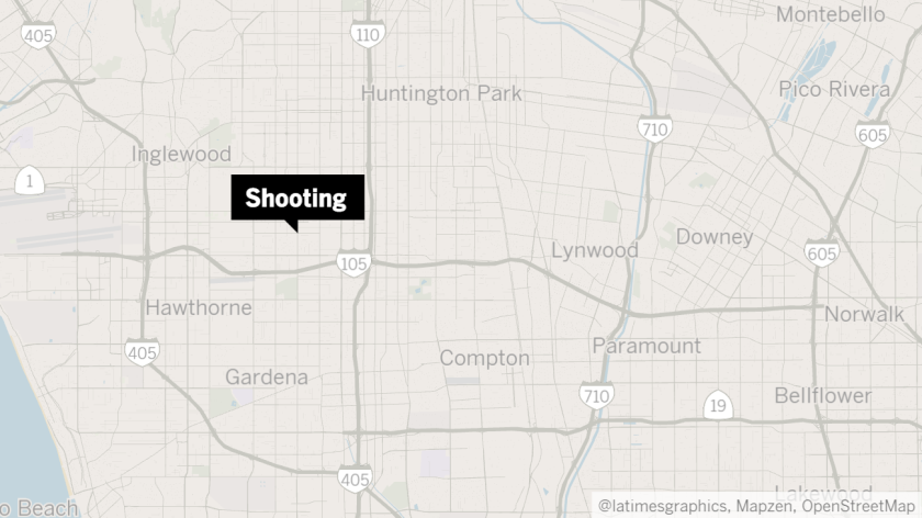 The shooting occurred at 108th Street and Western Avenue.