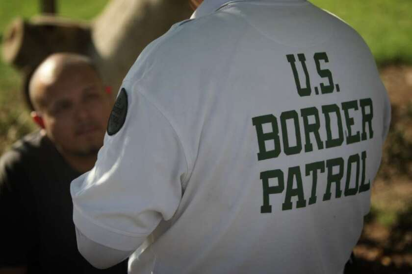 Too much force at the border