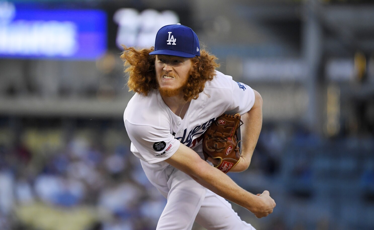 79a1eecd Dustin May's Dodgers debut spoiled by loss to Padres - Los Angeles Times
