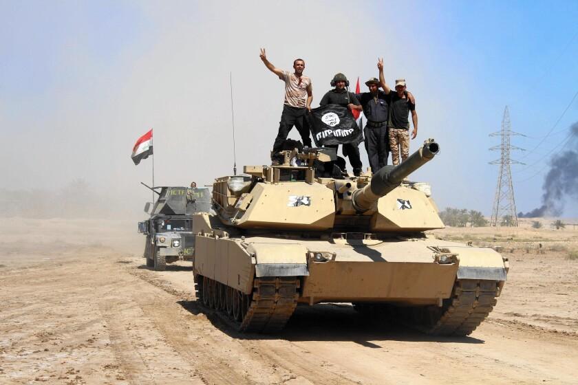 Battling Islamic State in Iraq