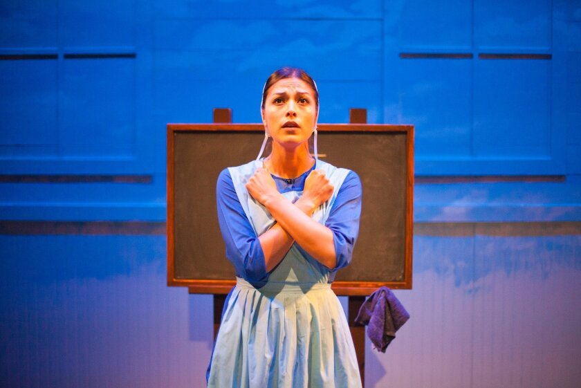 "Iliana Carter stars in ""The Amish Project"" presented by the Mo`olelo Performing Arts Company at the 10th Avenue Theatre and directed by Delicia Turner Sonnenberg."