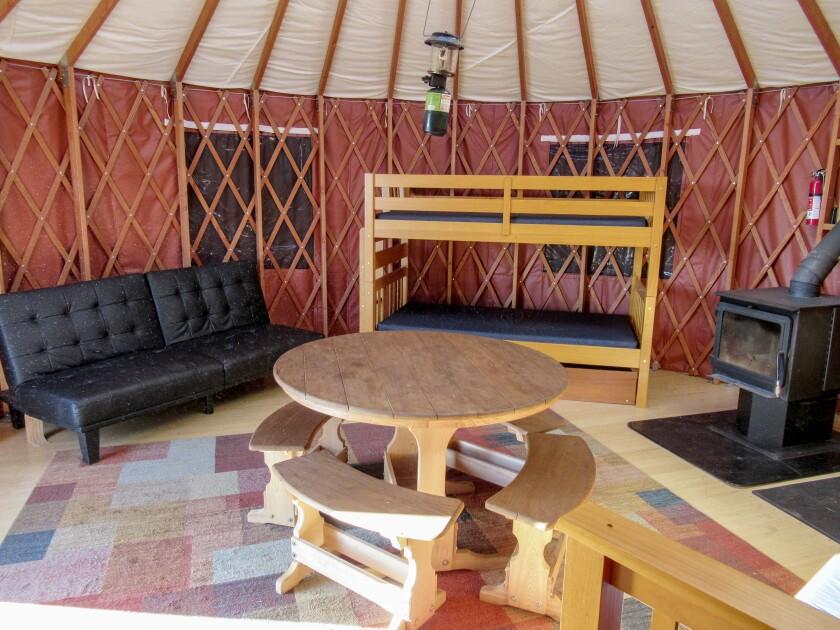 Yurt in Utah