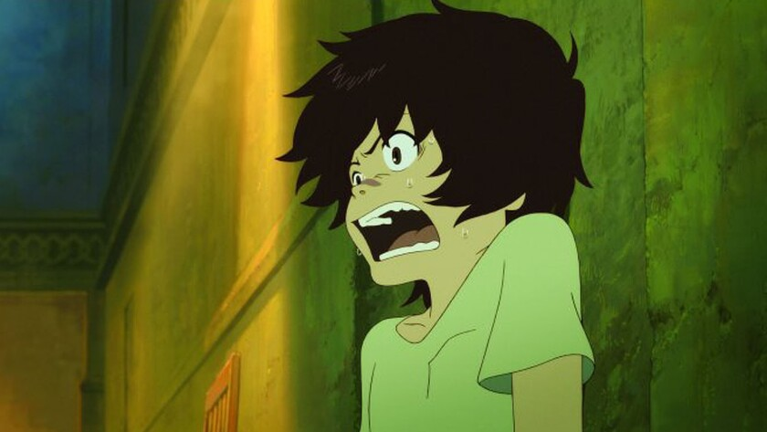 """A scene from """"The Boy and the Beast."""""""
