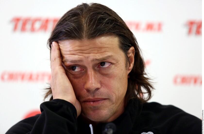 Matías Almeyda, entrenador de las Chivas.