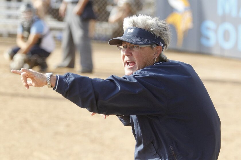 Former Marina High softball coach Shelly Luth had a career record of 476-250-3.