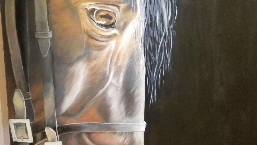 Works by equine artist Sarah Richter
