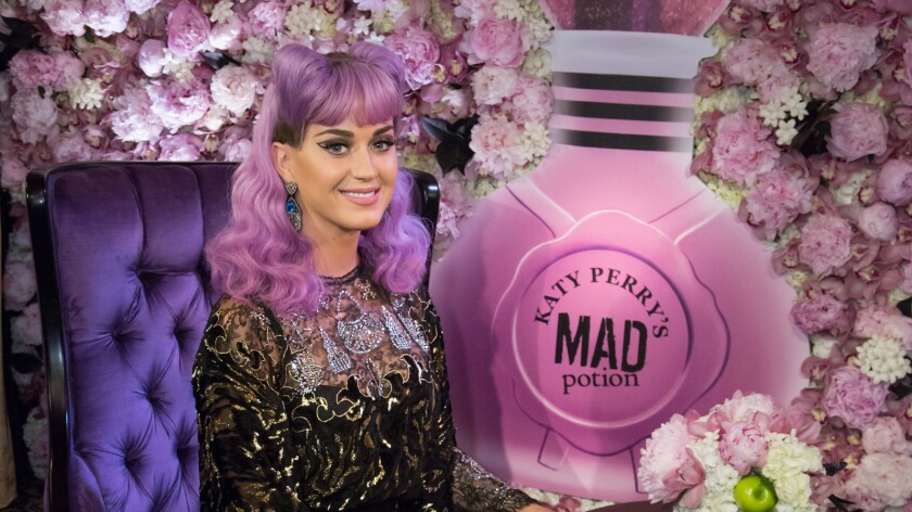 Katy Perry's latest fragrance is Mad Potion.