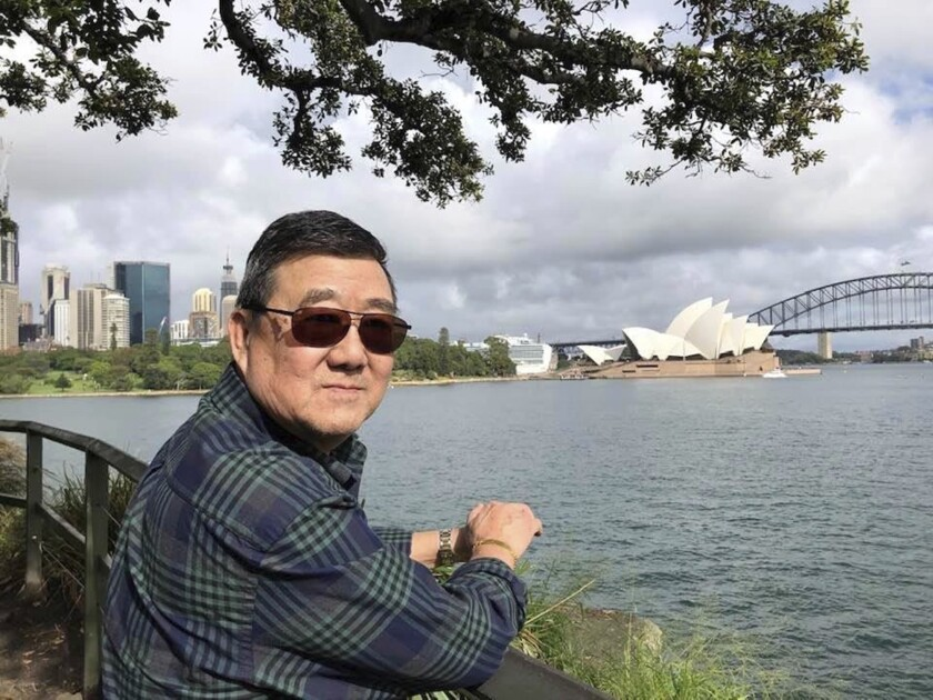 Ming Wang in Australia