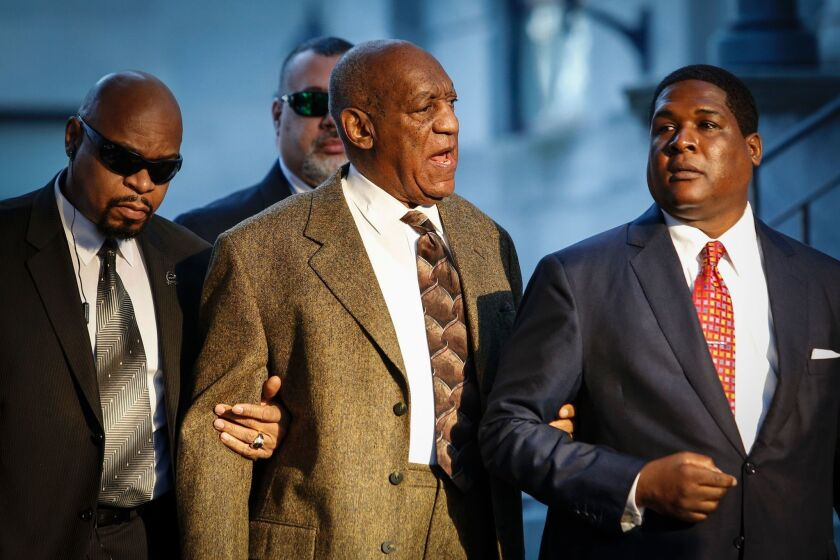 Bill Cosby arrives at court in Norristown, Pa., on Tuesday.