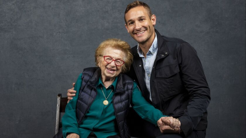 PARK CITY, UTAH -- JANUARY 26, 2019 -- Subject Ruth Westheimer, and director Ryan White, from the do
