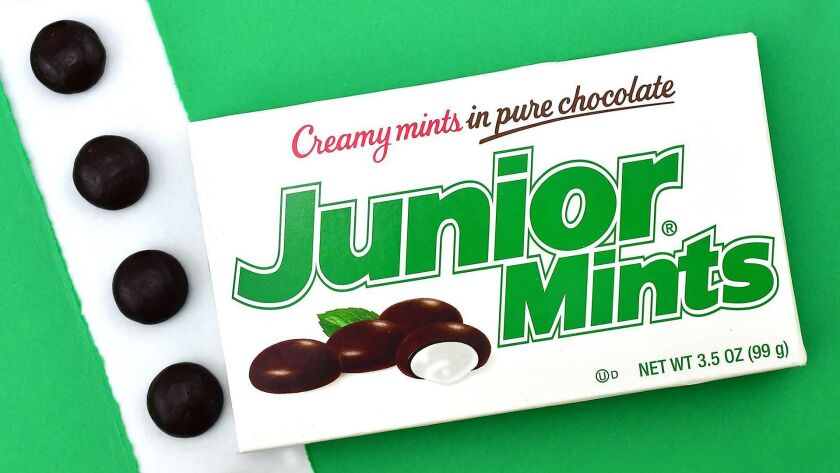 Junior Mints from Junior Mints facebook page. - Original Credit: