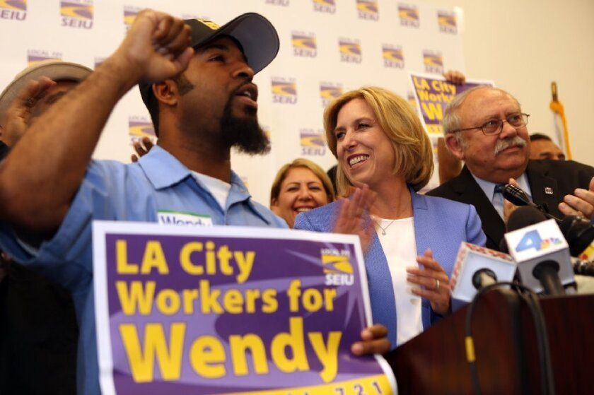L.A. city workers for Greuel