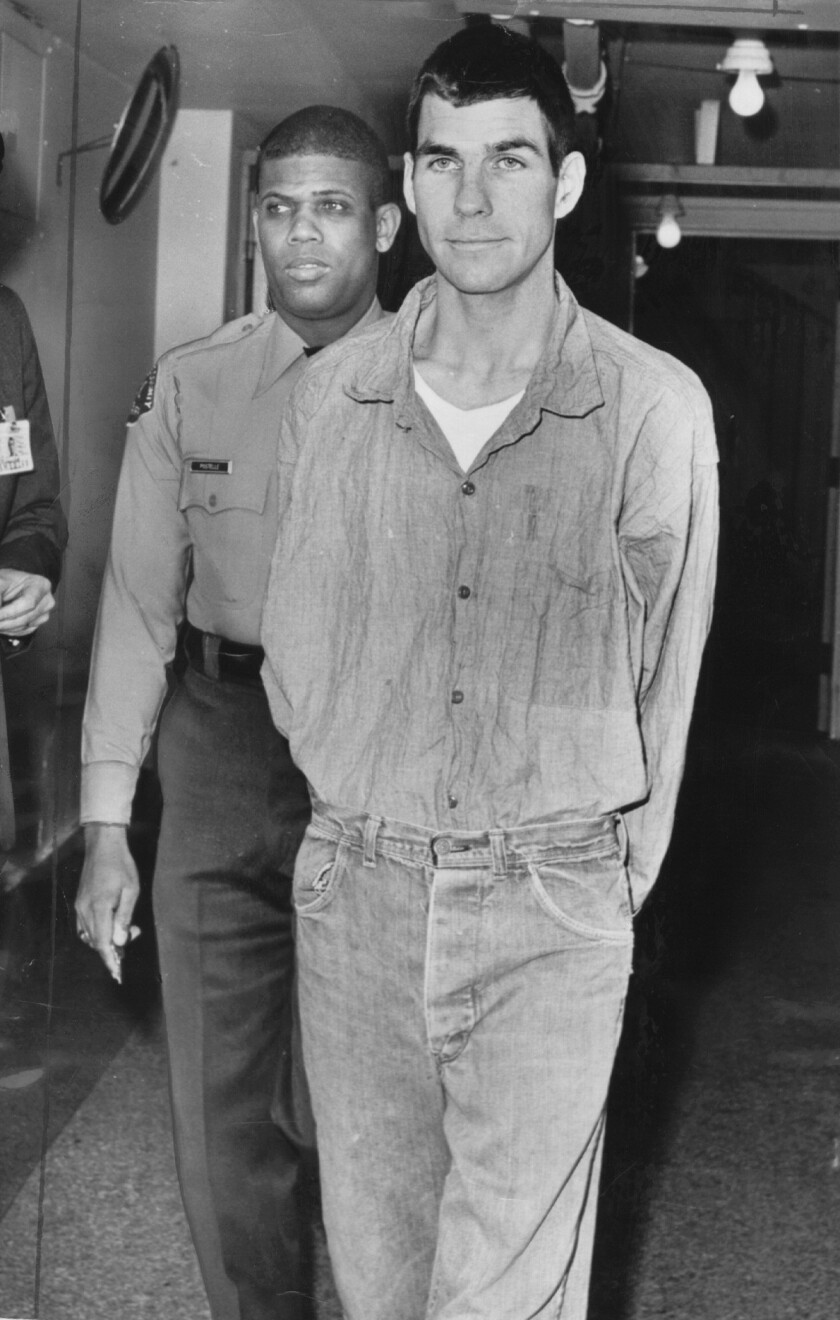 "Charles ""Tex"" Watson, shown in a file photo, has denied the tapes will reveal additional killings."