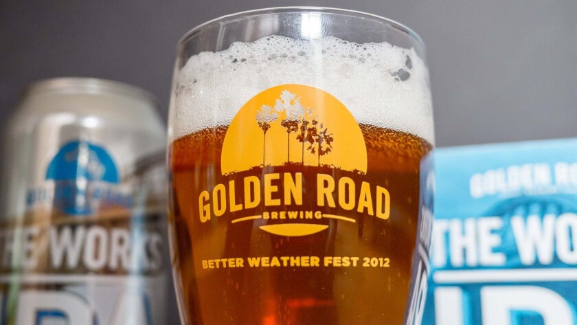 One of the biggest stories of the year was AB InBev's acquistion of Golden Road Brewing.