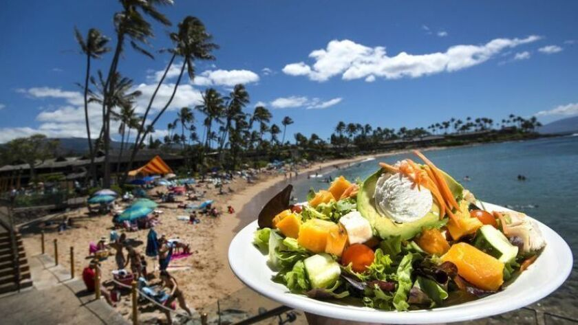 Newsletter: Escapes: Tips on food photography and on eating well for less than $20 on Maui