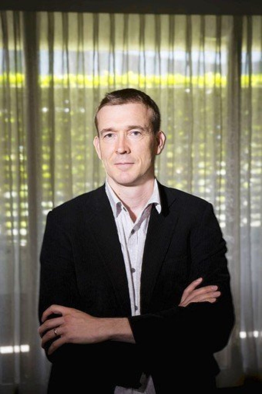 "Author David Mitchell wrote ""Cloud Atlas."""