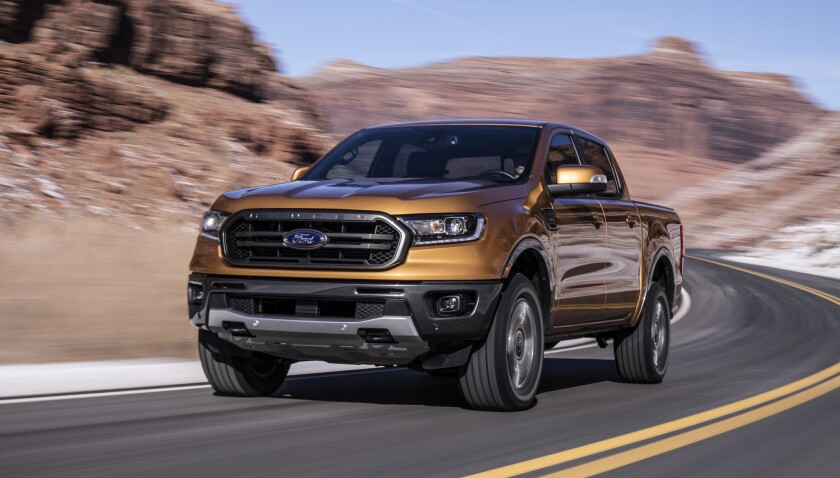 An all-new Ford Ranger midsize pickup truck returns to the U.S. market for 2019.