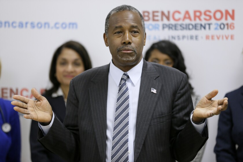 A super PAC jump-started the presidential candidacy of Republican Ben Carson.