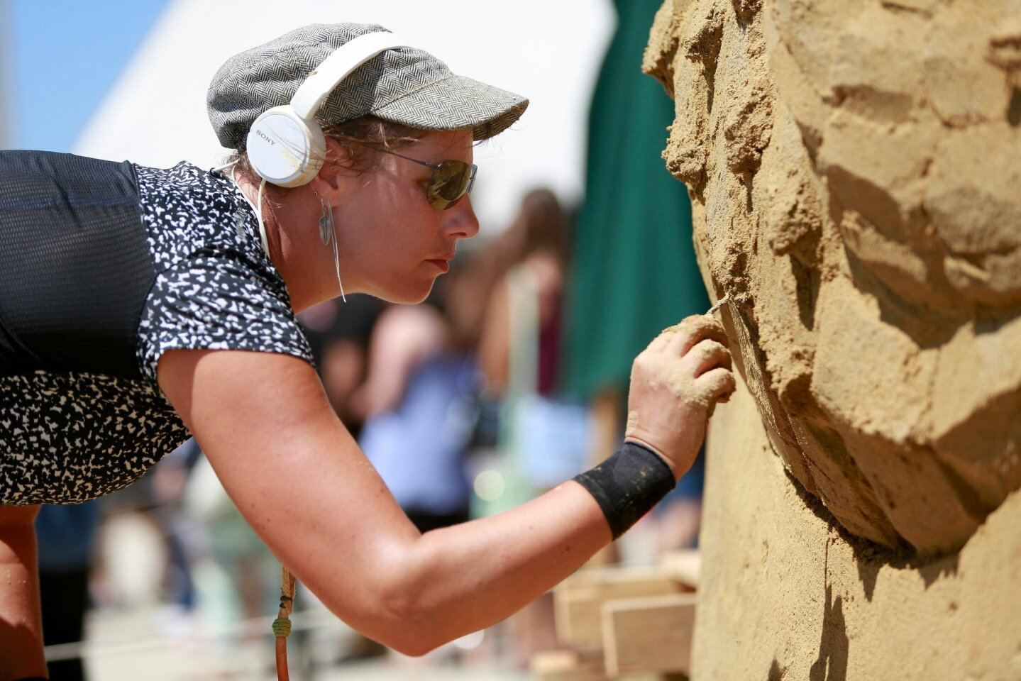 U.S. Sand Sculpting Challenge and Dimensional Art Exposition