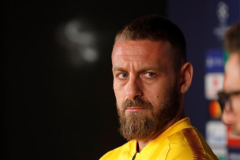 El centrocampista del Roma Daniele De Rossi. EFE/Archivo