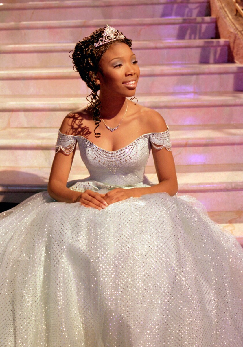 "Brandy Norwood became Disney's first Black princess in ""Cinderella."""