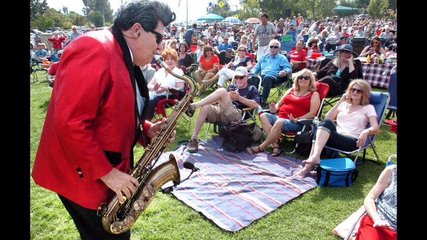 This year's Music in the Park summer concert series will be affected by restrictions put in place to fight the coronavirus pandemic.