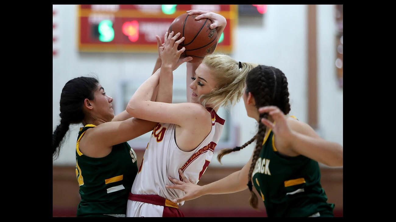 Photo Gallery: Ocean View vs. Saddleback in girls' basketball