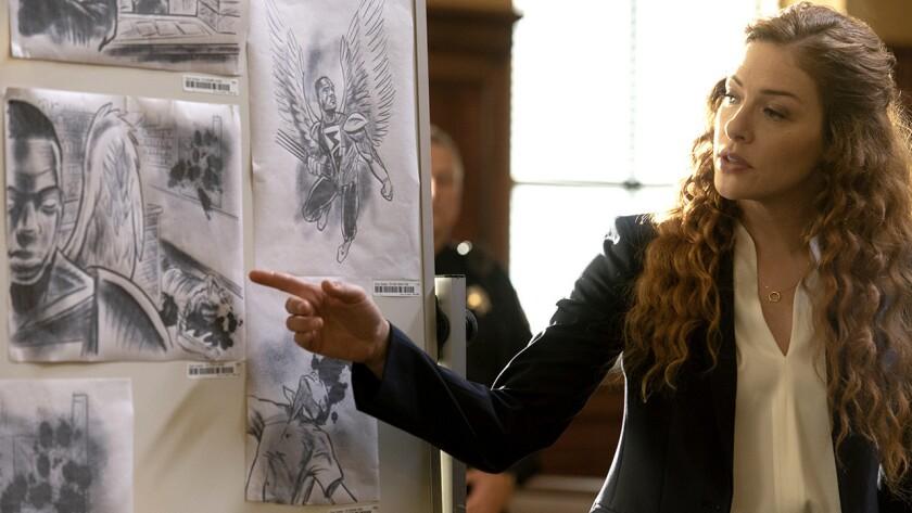 "Rachelle Lefevre in ""Proven Innocent"" on Fox."