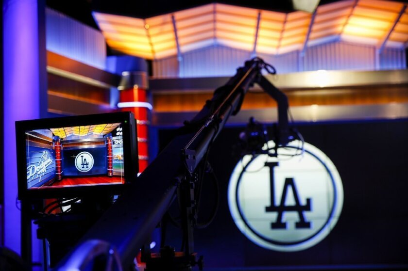 The set of SportsNet LA
