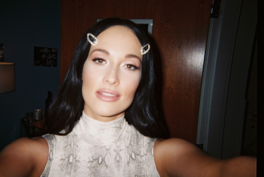 A selfie taken by Kacey Musgraves in Paso Robles during the second leg of her ÒOh, What A WorldÓ tour