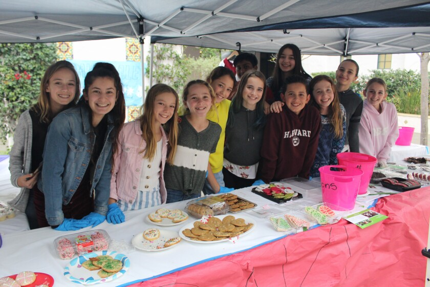 R. Roger Rowe student council lead a bake sale on Dec. 6.