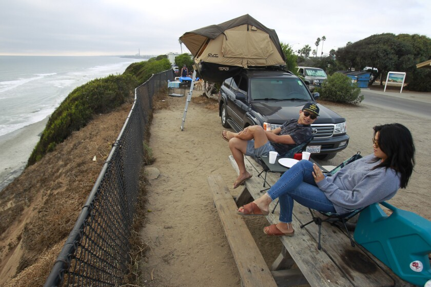 South Carlsbad State Beach Campground