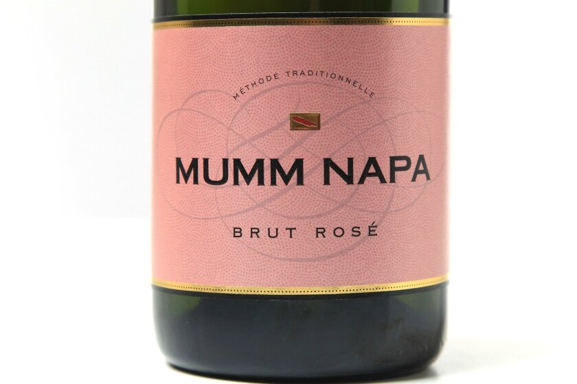 Mumm Napa Brut Rosé is pretty in pink and perfect for Valentine's Day brunch, dinner or dessert.