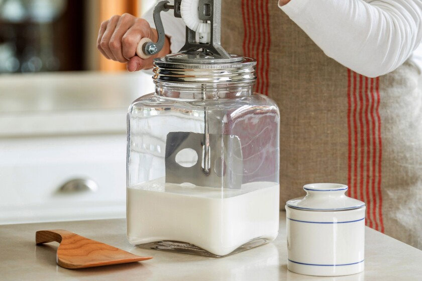 The Dazey butter churn