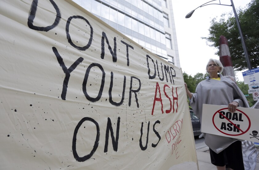 Duke Energy protest