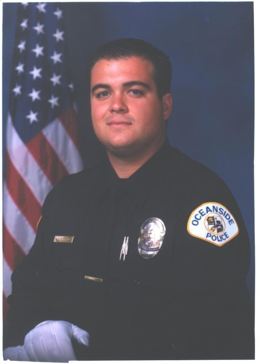 Oceanside police Officer Dan Bessant