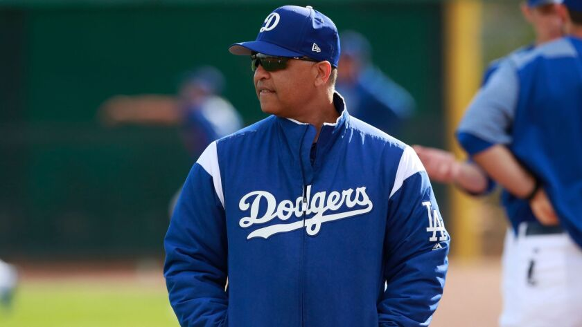 Dave Roberts starts his third year as Dodgers manager as spring training begins on Monday.