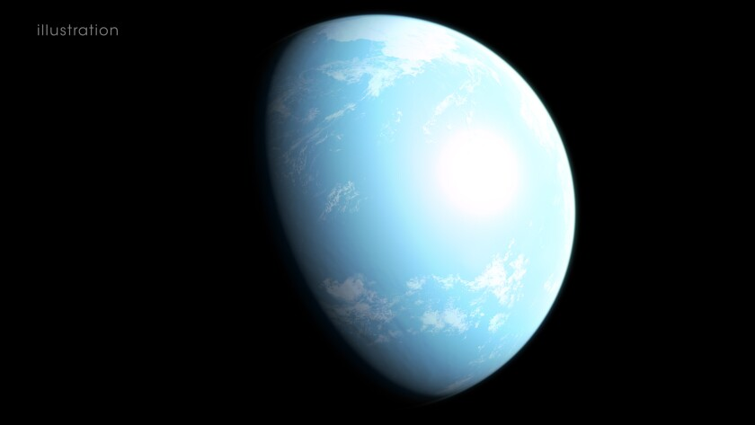 A super-Earth planet