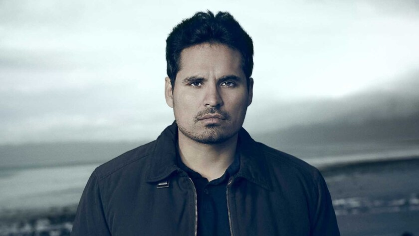 """The boy's father (Michael Pena) is questioned after he's caught in a lie on """"Gracepoint."""""""
