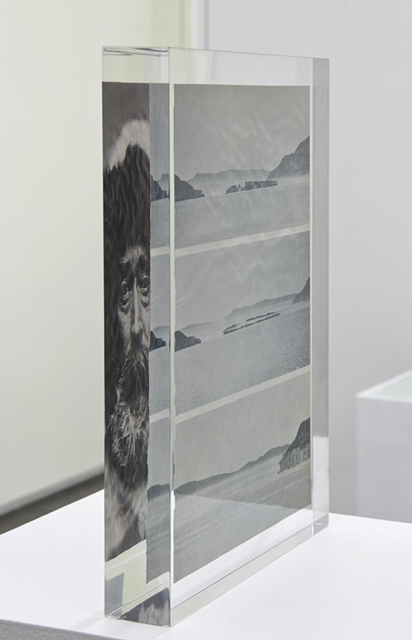 "Mungo Thomson's ""Inclusion (An Arctic Mirage)"" (2014)."
