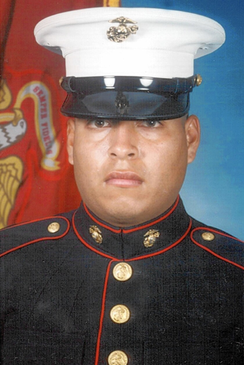 Fellow Marines said Sgt. Rafael Peralta, mortally wounded by a shot to the head, grabbbed an enemy grenade to shield them, but medical experts said it was probably an unconscious act.