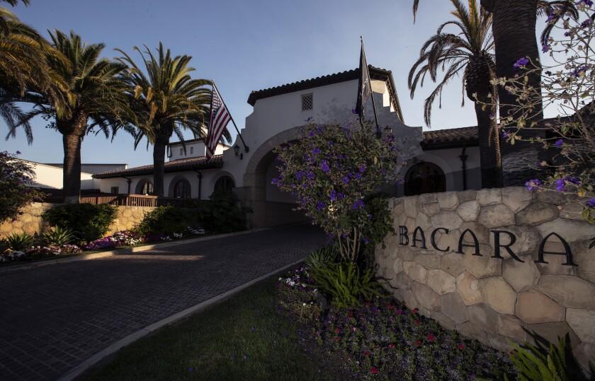 GOLETA, CALIF. -- THURSDAY, JULY 26, 2018: The Ritz-Carlton Bacara in Goleta, Calif., on July 26, 20