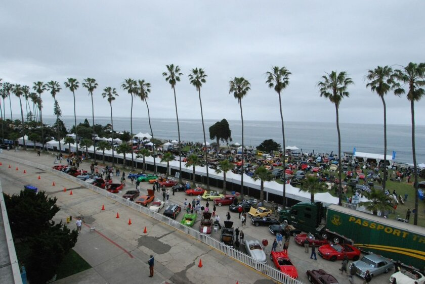 This year's Concours d'Elegance auto show runs 9 a.m. to 4 p.m. Sunday, April 12 in Scripps Park.
