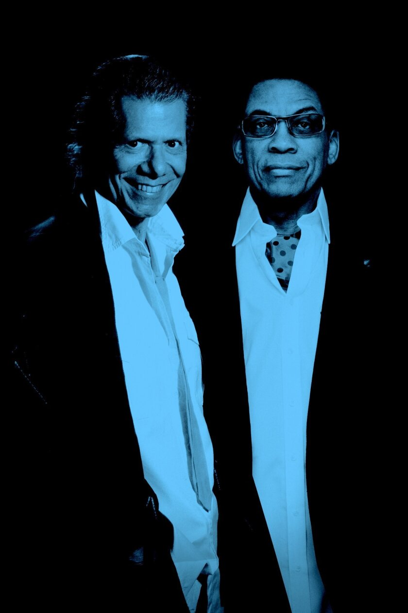 Chick Corea and Herbie Hancock