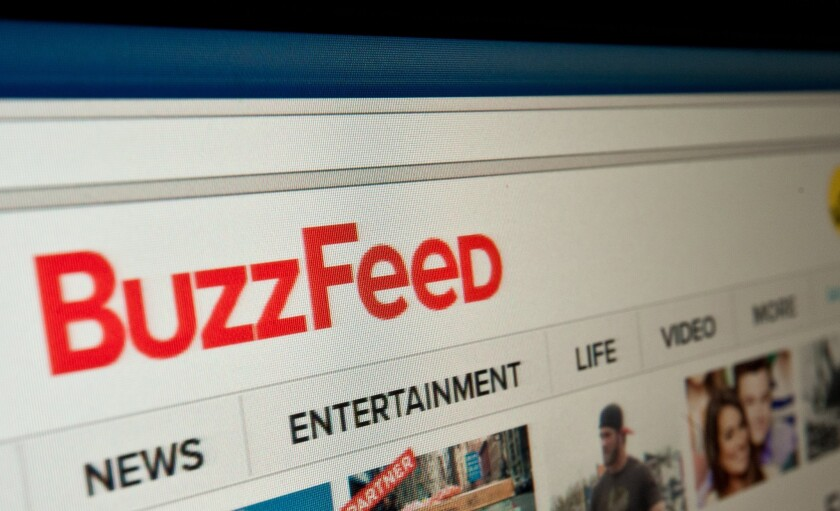 BuzzFeed is cutting 8 percent of U.S. employees, or 100 jobs, as changes its business model in a bid to boost revenue.